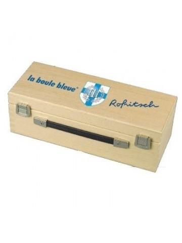 La Boule Bleue Prestige inox 111 collector boule de pétanque en acier inoxydable